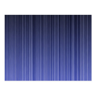 Blue Striped Background Postcard