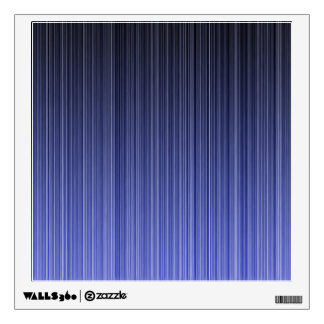 Blue Striped Background Wall Decal
