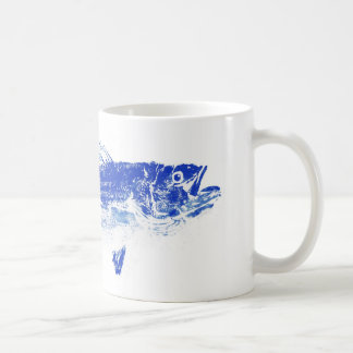 blue striped bass coffee mug