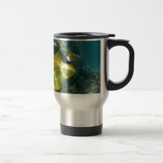 Blue-striped Butterflyfish 15 Oz Stainless Steel Travel Mug