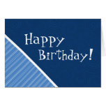 Blue Striped Cards
