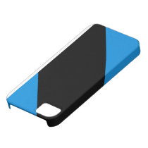 Blue Striped iPhone Case