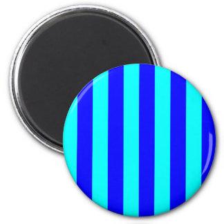 Blue Striped Magnet