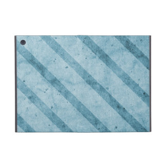 Blue Striped Subtle Grunge Wallpaper iPad Mini Case