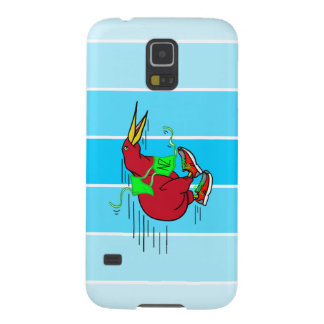 blue stripes background.png case for galaxy s5