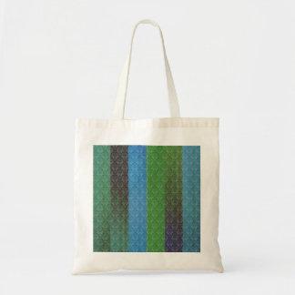 Blue Stripes Tote Bags