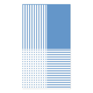 Blue Stripes Business Cards