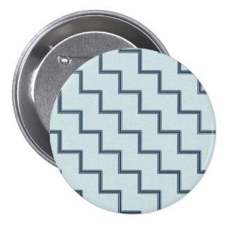 Blue Stripes Pin
