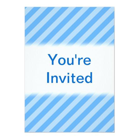 Blue Stripes. Card