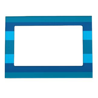 Blue Stripes custom picture frame Magnetic Frame