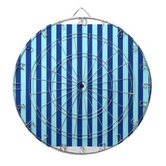 Blue Stripes Dart Board