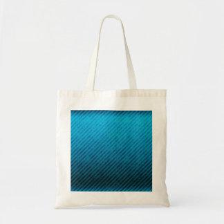 Blue Stripes Grunge Texture Tote Bag