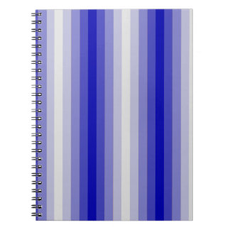 Blue Stripes Notebooks