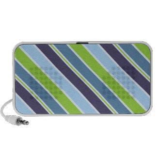 Blue Stripes Pattern Speaker