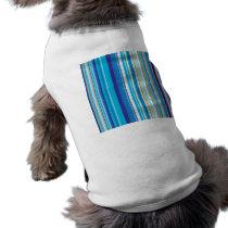 Blue Stripes Pattern T-Shirt