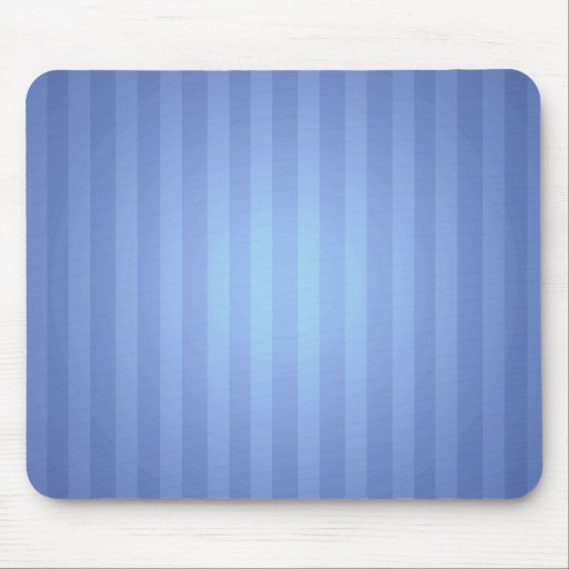 Blue Stripes with Highlight Mouse Pad