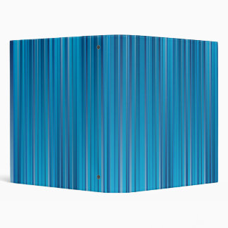 Blue Strips 3 Ring Binder