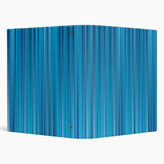 Blue Strips Binders