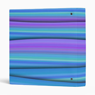 Blue Strips Binder