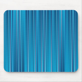 Blue Strips Mouse Pad
