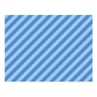 Blue Stripy Pattern. Postcard