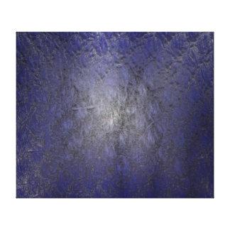 Blue Stucco Canvas Print