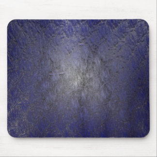 Blue Stucco Mouse Pad