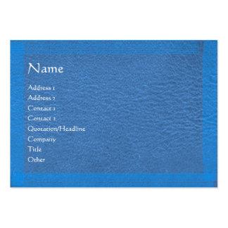 Blue Stylish Border n Surface Business Card Templates