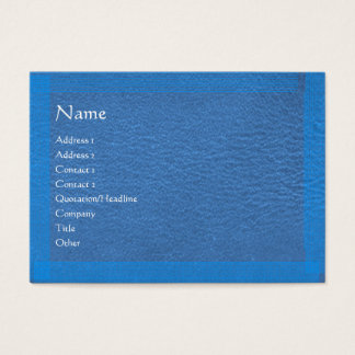 Blue Stylish Border n Surface Business Card