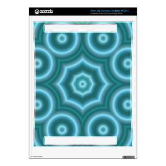 Blue Stylish circle pattern Xbox 360 Skins