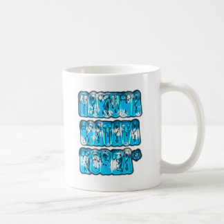 Blue stylish vintage Zombi  Design Hakuna Matata K Classic White Coffee Mug