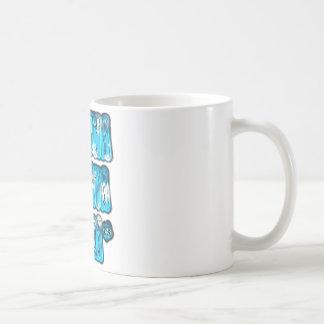 Blue stylish vintage Zombi  Design Hakuna Matata K Coffee Mug