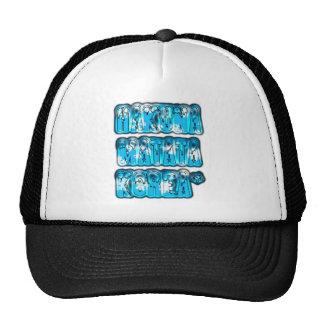 Blue stylish vintage Zombi  Design Hakuna Matata K Trucker Hat