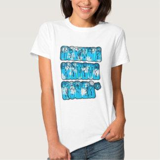 Blue stylish vintage Zombi  Design Hakuna Matata K T-shirt