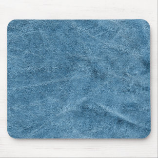 Blue suede texture mouse pad