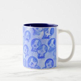 Blue SugarSkulls Mug