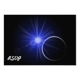 Blue Sun Black Planet Card