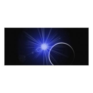 Blue Sun Black Planet Rack Card