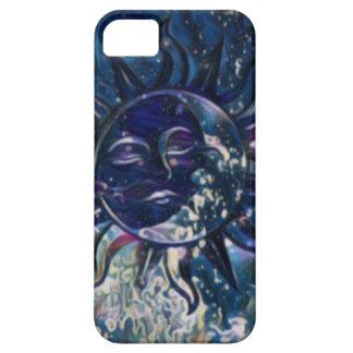 Blue Sun Moon iPhone SE/5/5s Case