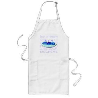 Blue Sundae Long Apron
