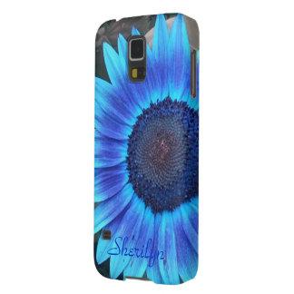 Blue Sunflower Galaxy Nexus case