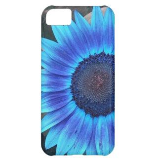 Blue Sunflower iPhone 5 case
