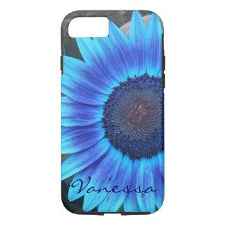 Blue Sunflower iPhone 7 case **