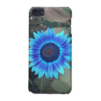 Blue Sunflower iPod Touch case
