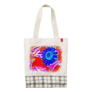 Blue Sunflower Tote