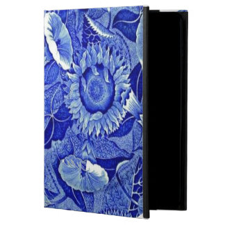 Blue Sunflower Vintage China Dishes Plate Pattern Case For iPad Air