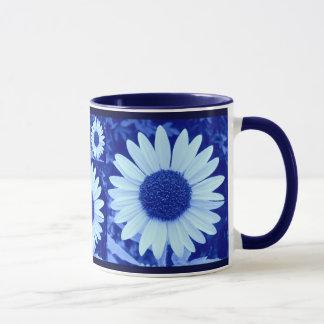 Blue Sunflowers Mug