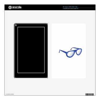 blue sunglasses.png decals for kindle fire