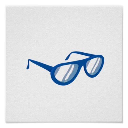 blue sunglasses reflection.png print