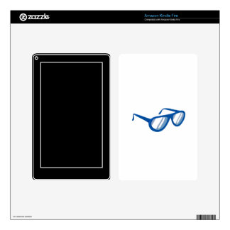 blue sunglasses reflection.png kindle fire skins